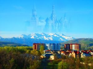 Москвичка в Бишкеке