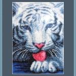 "Вышивка ""Белый тигр"" (Искусница)"