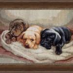 "Вышивка ""Три собачки"" (Luca-S)"
