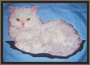 "Вышивка ""Мой кот Тимошка"" (по фото)"