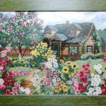 """Вышивка """"Цветущий сад"""" (Риолис)"""
