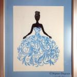 Вышивка Невеста