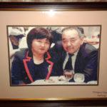 Портрет родителей к юбилею. Вышивка по фото