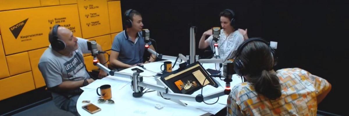 Мария Джалая на шоу Ретрансляторы