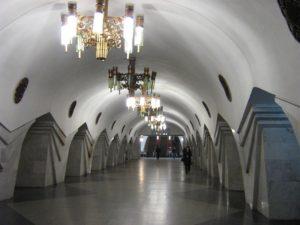 Станция «Пушкинская» в Харькове