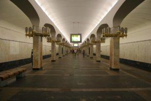 Станция «Пушкинская» в Минске