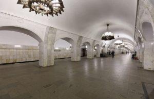 Станция «Пушкинская» в Москве