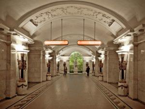 Станция «Пушкинская» в Петербурге