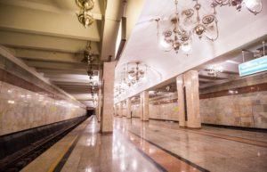 Станция «Пушкинская» в Ташкенте