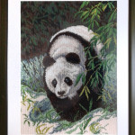 """Вышивка """"Панда"""" (Матренин посад)"""